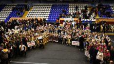 Okulsporları Halk Oyunları İl Birinciliği ödül töreni