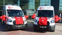 'Tam Donanımlı 2 Yeni Ambulans'