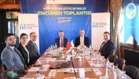 Başkan Yılmaz Marmara Belediyeler Birliği Encümen toplantısı için Sakaryada