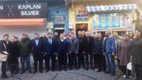 Canbey'den Ayvalık MHP teşkilatına nezaket ziyareti