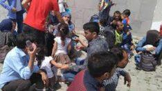 Ayvalık'ta 56 Düzensiz Göçmen Yakalandı.