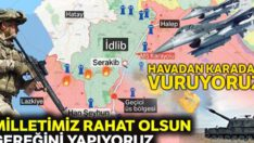İdlib'de Mehmetçiğe pusu kurdular