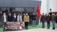 Üniversite bahçesinde Şehit Fırat Yılmaz Çakıroğlu anıldı