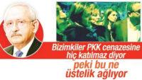 Siz, Esad'a ve YPG'li teröristlerin cenazesine nasıl koştunuz?