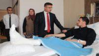 """İdlib gazisi Mustafa Aydoğan: """"Buradayım ama aklım silah arkadaşlarımda"""""""