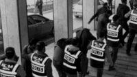 Balıkesir'de polis 22 aranan şahsı yakaladı.