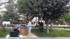 Karesi Belediyesi, virüs için 70 ton dezenfektan kullandı