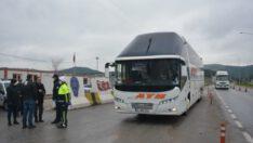 Balıkesir'de şehre giriş çıkışlar kontrol altında