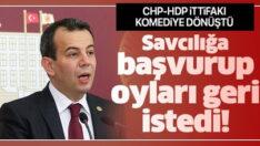 Komediye bak! HDP, CHP'den oylarını istiyor