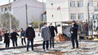 Plevne mahallesi Kapalı Pazar Yeri inşaatı