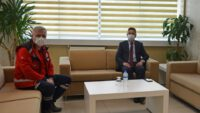 Rektör Prof. Dr. İlter Kuş, İl Sağlık Müdürü Dr. Fevzi Yavuzyılmaz'la Salgın Sürecini Değerlendirdi