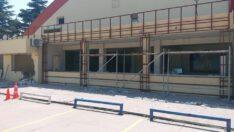 Kurtdereli Spor Salonumuzda bakım ve onarım çalışmaları yapılıyor