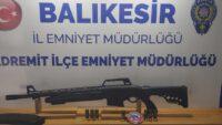 Balıkesir'de son 1 ayda 87 silah yakalandı.