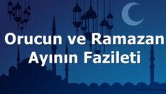 Ramazan ayının üstünlüğü, fazileti