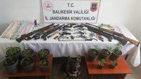 Jandarmadan 18 adrese eş zamanlı operasyon: 15 kişi gözaltında…