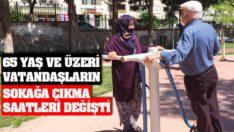 65 Yaş ve Üzeri vatandaşlarımız pazar günü12.00-18.00 Saatleri Arasında Dışarıya Çıkabilecekler.
