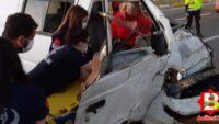 Balıkesir'de trafik kazası 2 ölü, 3 yaralı