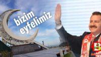 Çamlık'taki Hilal, Balıkesir'in simgesi olacak