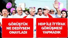 Bülbül gibi şakıyan Ahmet Türk, sır veren Sırrı'yı beğenmiyor