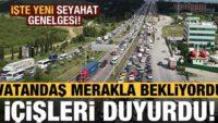 Balıkesir'de giriş-çıkış kısıtlaması 31 Mayıs Pazar günü saat 24:00'dan sonra sonlandırılacak.