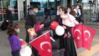 Suudi Arabistan'dan getirilen 170 kişi Balıkesir'de yurda yerleştirildi.
