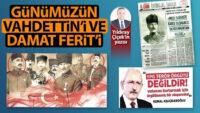 Günümüzün Vahdettin'i, Damat Ferit'i Kılıçdaroğlu ve CHP yancısı Soner Yalçın!