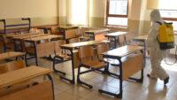 Okullar LGS ve YKS İçin Yeniden İlaçlanacak