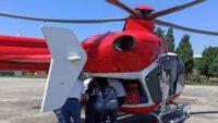 Aort hastası helikopter ambulans ile Ankara'ya sevk edildi
