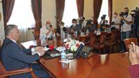 Vali Ersin Yazıcı Antalya'da göreve başladı