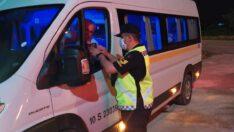 Şehirlerarası Yolcu Taşıyan Araçların Denetimi Gerçekleştirildi.
