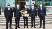 Vali Hasan ŞILDAK Başkanlığında BALOSB'de İlk Müteşebbis Heyet Toplantısı Yapıldı