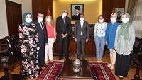 Nüfus Müdürlüğünden Vali Hasan ŞILDAK'a Ziyaret