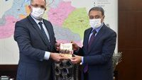 Milli Savunma Üniversitesi Rektörü AFYONCU Vali ŞILDAK'ı Ziyaret Etti