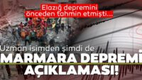 """Marmara depremi """"Geliyorum"""" diyor…"""