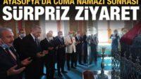 Cumhurbaşkanı Erdoğan'dan Ayasofya sonrası sürpriz ziyaret