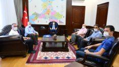 Vali Hasan Şıldak'a ziyaretler sürüyor