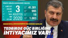 Türkiye'de Covid-19'dan bugün 19 kişi hayatını kaybetti