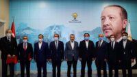 AK Parti ilçe başkanlıklarına yeni atamalar