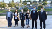 Sabri Uğur Millet Kıraathanesi çalışmalarını yerinde incelediler