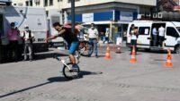 Dünya Dağ Bisikleti Maraton Şampiyonası'nın tanıtım programı Balıkesirde gerçekleştirildi.