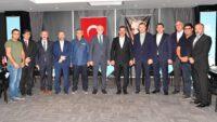 Vakıflar Genel Müdürü Burhan Ersoy Balıkesir Büyükşehir Belediyesini ziyaret etti