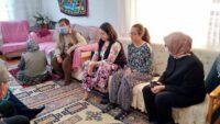 Belgin Gökçe Uygur acılı aileyi ziyaret etti