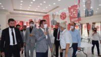 MANYAS MHP'DE NAZMİ TAŞKIN BAŞKAN SEÇİLDİ