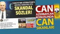 Can Azerbaycan konusunda can sıkanlar!