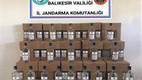 BANDROLSÜZ ALKOL ELE GEÇİRİLDİ