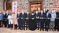 Altıeylül Belediyesi tarafından yaptırılan 'Sabri Uğur Parkı ve Millet Kıraathanesi' açıldı