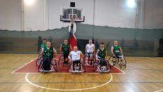 Tekerlekli Sandalye Basketbol takımı