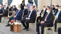 Vali Hasan Şıldak İçişleri Bakanımız Süleyman Soylu ile birlikte ..