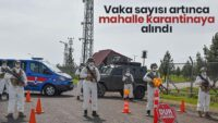 Karesi İlçesine bağlı Ovacık Mahallesi karantina altına alındı