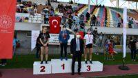 """Cumhuriyet Kupası Atletizm Yarışmaları"""" sona erdi."""